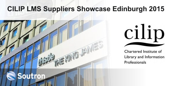 Meet Soutron at the CILIP LMS Suppliers Showcase 2015