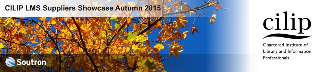 Meet Soutron at the CILIP LMS Suppliers Showcase Autumn 2015
