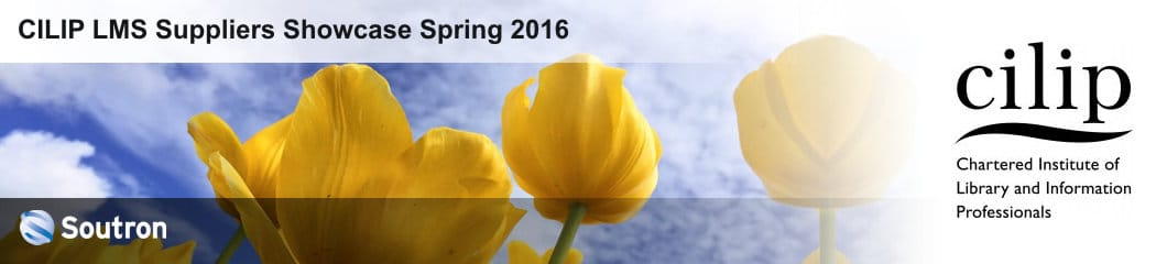 Meet Soutron at the CILIP LMS Suppliers Showcase Spring 2016
