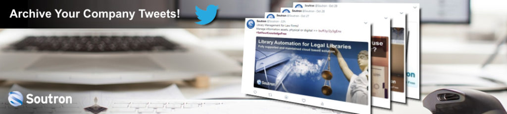 Create an online archive your company tweets!