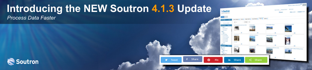 Soutron New 4.1.3 Software Update