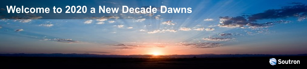 Welcome to 2020 A New Decade Dawns