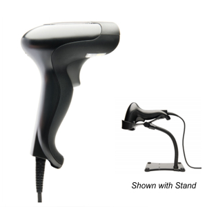 Opticon Barcode Scanner with Stand
